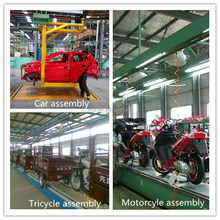 automatic and manual product line for vehicle assembly
