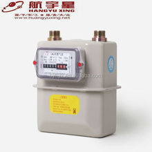 Hangyuxing Steel Case Residential Diaphragm Natural Gas Meter g1.6-g4