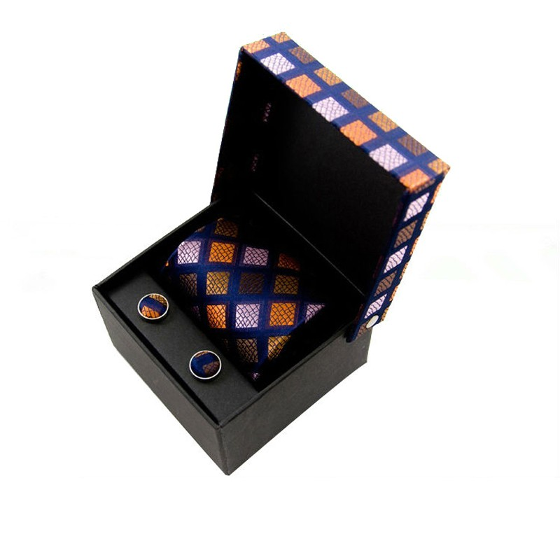 Customized Tie case printed paper packaging box for bow tie in EECA