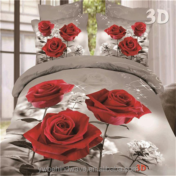 Top quality new design stocklot bed sheet