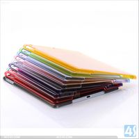 Liquidation sale Crystal transparent slim pc back cover hard case for Apple ipad air