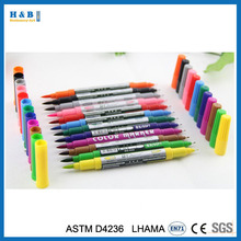 Promotional magic double color water marker