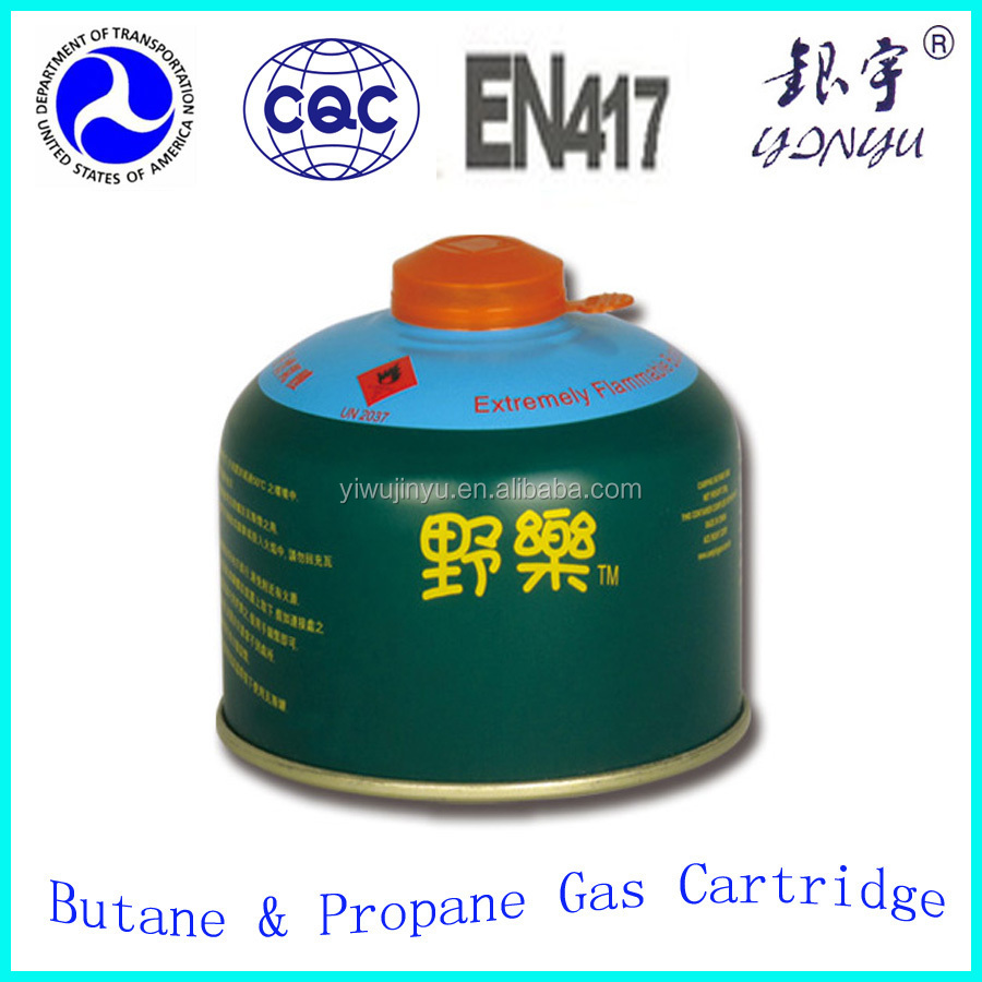 Master small propane gas container for camping gas torch