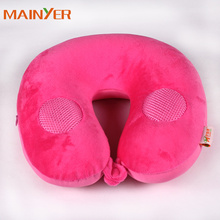 Lowest price wholesale music pillow Travel microbead music Pillow Speaker