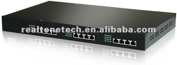 16 FXS Ports VoIP Gateway manufactures