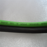 100FT True 8 Gauge Awg Speaker Wire Pro Cable Green Black Car & Home Audio Spool