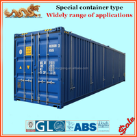 20 foot 40 foot soft and hard open top container
