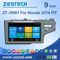 2 din car dvd player for Honda Jazz Fit double din car dvd multimedia with GPS Radio RDS bluetooth 3G car dvd player