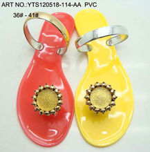 Hot sell jelly sandals