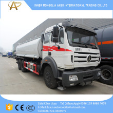 Beiben 10 wheels 20000 liters fuel truck North benz tanker truck