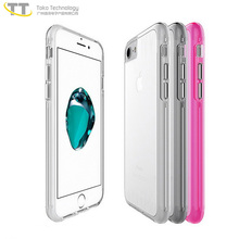 Hot sale 2017 bulk buy from china 2 in 1 cheapest low price clear case for iphone 5 6 7