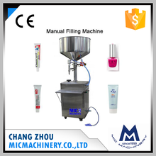 Micmachinery 5-50ml manual cosmetic tubes filling machines