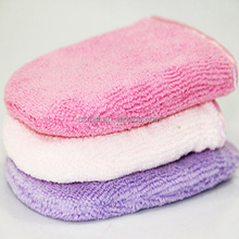 Microfiber Cosmetic Glove/Facial Mitt/Makeup Remover Soft Terry Style