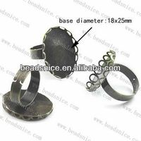 beadsnice 13426 fashion jewelrysolid 14k ring settings ring making supplies