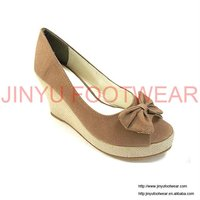 2012 wedge fashion girl shoes