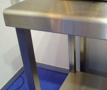 Mesa de acero inoxidable precio