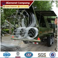 Rapid deployment barrier trailer