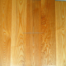 Brushed Stained Color high density Ash solid wood flooring