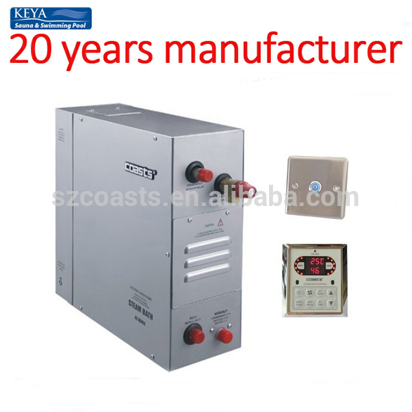 KSB-120C 12KW 380V steam generators for big sauna club