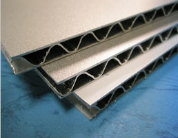 EMBOTECKS - Aluminum Corrugated Sandwich panel