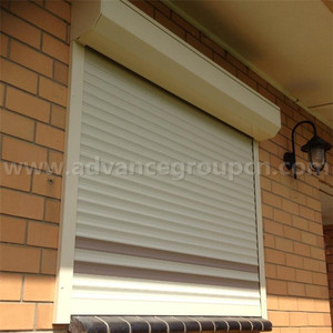 2018 European standard Motorized aluminum roller shutter for shutters