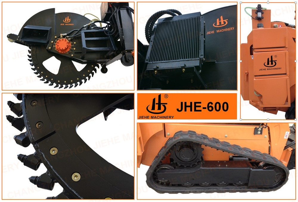 New type quality assurance road grooving machines(JHK-600)