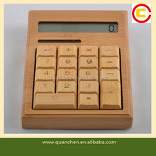 Natural Eco-friendly Bamboo Citizen Calculator