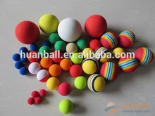 2014 Chinese colorful soft eva foam balls for kids