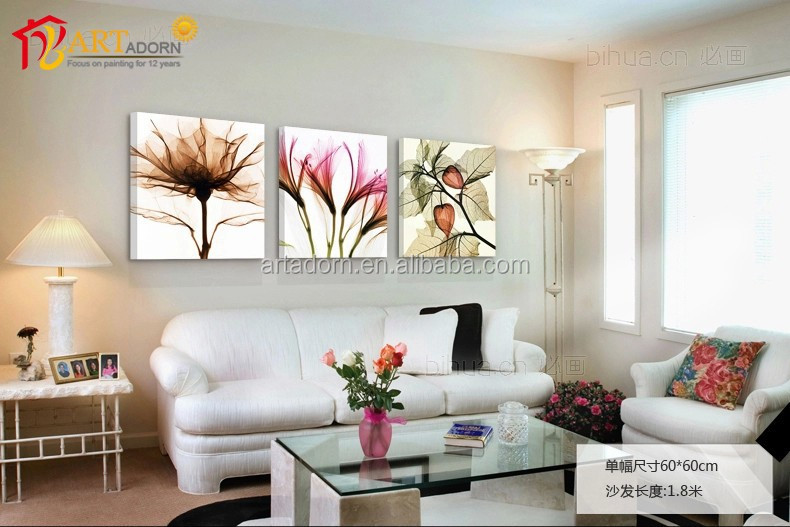 China Home Decor Wholesale Canvas Print 3 Piece Wall Art Painting
