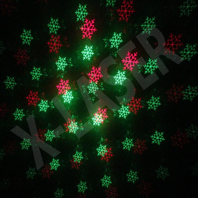 2017 hot 12 in 1 animation laser light good quality Christmas decoration