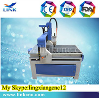 Jinan Link brand LXM0609 T-slot table with 2 years warranty period Most popular cnc 0609 router engraver