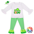 Lovely Cute Baby Girl St. Patrick's Day Outfits Baby Toddler clothing manufacturers overseas