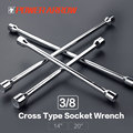 4 -Ways Cross Universal Socket Wrench Spanner,Auto Accessory,Hardware Hand Tools