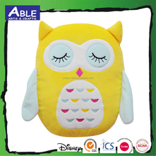 3d kids animal gift baby owl shaped cushion