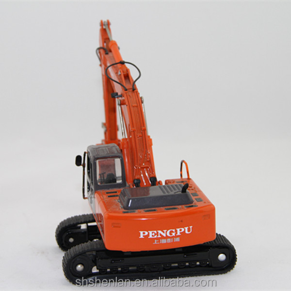 custom made excavator model,scale excavators,metal excavator diecast model factory