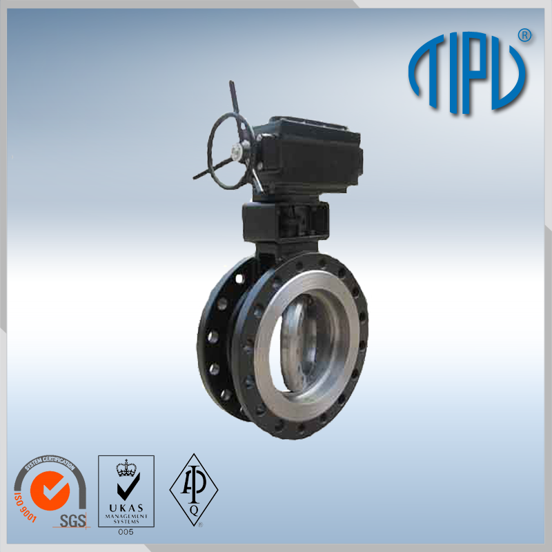 automatic drain electric water control butterfly valve for oil
