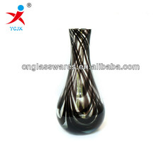 hand blown murano art glass vase for home decoration