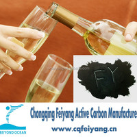 Wood based Activated Carbon for Wine Purification Spirit Purification