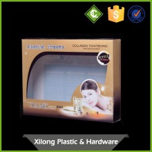 High quality clear window box packaging for cosmetic