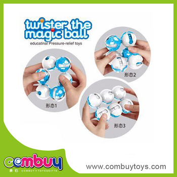 Hot sale educational set crooked magic magnet ball toy