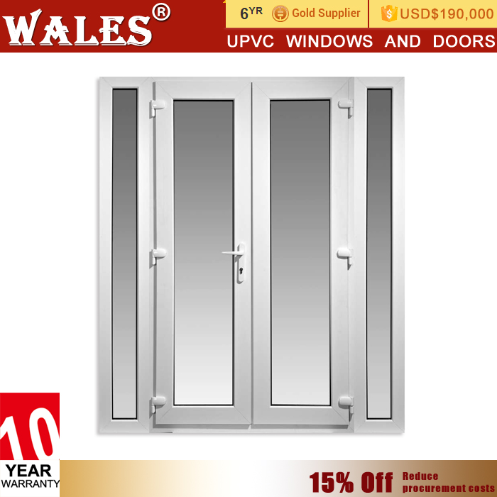 India market 10% off promotion pvc u doors