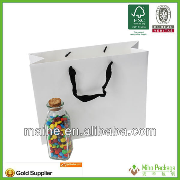 papewhosesale customized can print logo paper bags manufacturing process