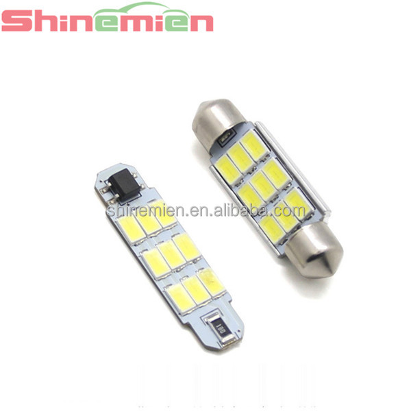 5630 9SMD Canbus Festoon led Car Lighting /Led Car Interior Roof Dome Light / Canbus Festoon led