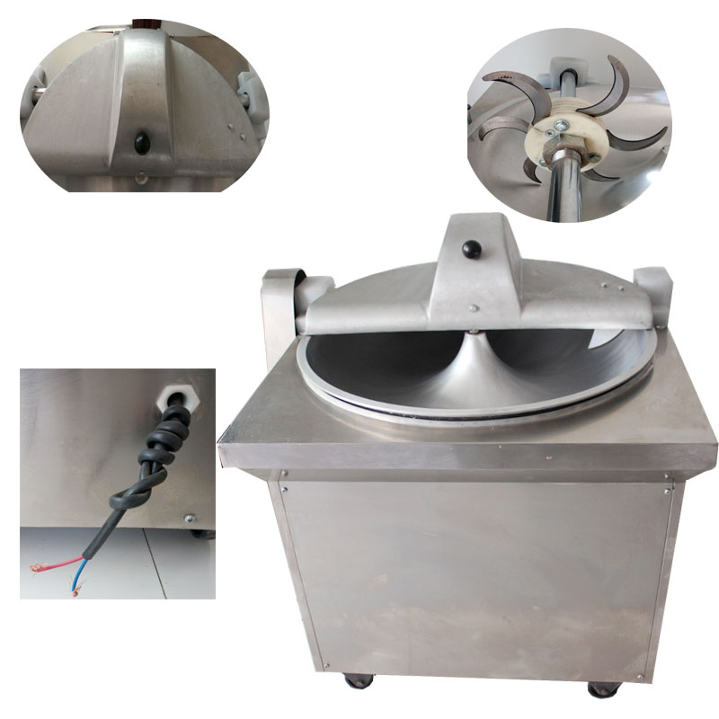 Large Capacity Garlic and Ginger Paste Grinding Machine / Fresh Fruit Jam Making Machine