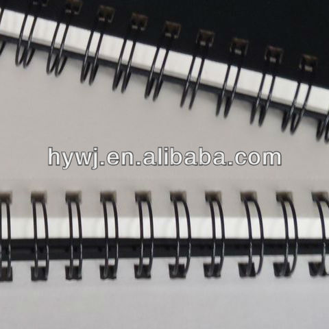 Book Binding Supplies Double Wire O,Doble With Various Colors and Sizes