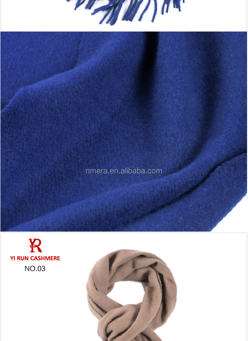Inner Mongolia cashmere wool scarf fashion stripe thick section warm woolen shawl SWC908