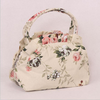 DM 409 wholesale 2017 shivering canvas personalized ladies bag cute shell small purses and handbags