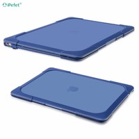 Factory Price with Foldable Kickstand Shockproof Hard case for macbook pro retina