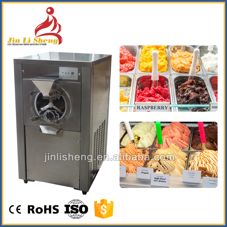 Table Batch Freezer Hard Serve Italian Gelato Ice Cream Making Commercial Gelato Machine Hard Ice Cream Machine price for sale