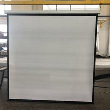 72Inch 16:9 Office Equipment Matte White Self-locking Manual Pull Down Projection Screen